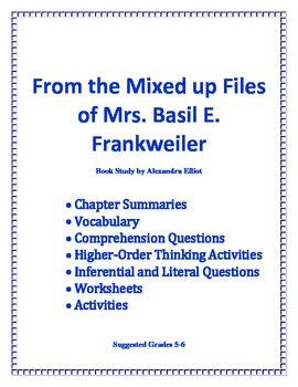 From the Mixed-Up Files of Mrs. Basil E. Frankweiler-Unit Guide