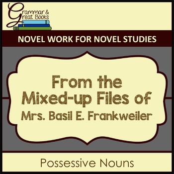 From the Mixed-up Files: Possessive Nouns