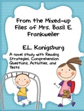 From the Mixed-up Files of Mrs. Basil E. Frankweiler: A Novel Unit
