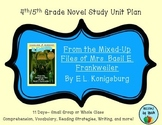 From the Mixed-up Files of Mrs. Basil E. Frankweiler Novel Study Unit Plan