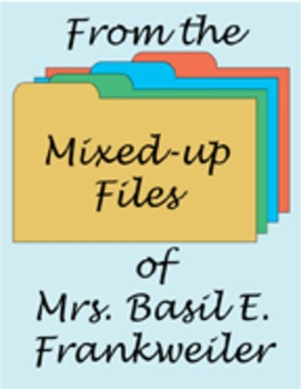 From the Mixed-up Files of Mrs. Basil E. Frankweiler Reading Center