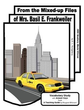 Mixed-up Files of Mrs Basil E. Frankweiler Vocabulary Study