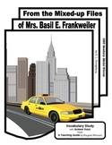 Mixed-up Files of Mrs Basil E. Frankweiler Vocabulary Study