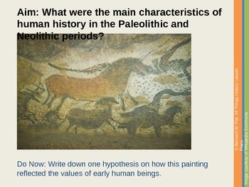 From the Paleolithic to the Neolithic PowerPoint