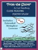 FROM THE SHORE by Carl Sandburg - Close Reading & Extended Metaphor