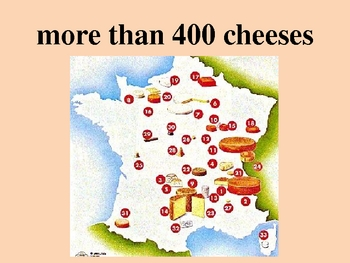 Fromage français (French cheese) power point
