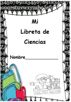 Front Cover for a Writing Journal in Spanish