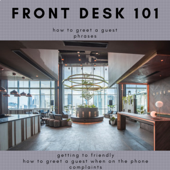Front Desk 101 - Customer Service