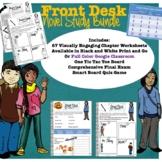 Front Desk Novel Study Bundle (Print and Go or Digital!)