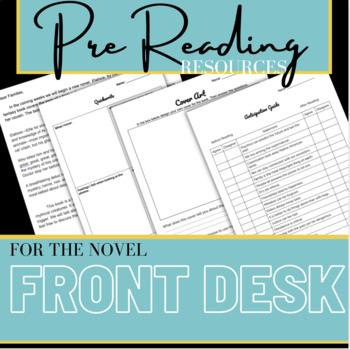 Front Desk Pre Reading Activities