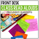 Front Desk: Read Aloud Discussion Questions