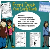 Front Desk Visually Engaging Chapter Worksheets, Activity Board