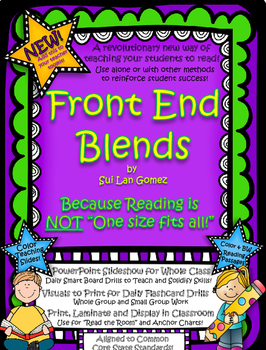 Front End Blends - A Reading Foundation Tool to Make CVC Blending Easier!