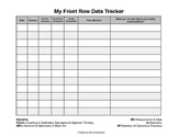 Front Row Student Tracker