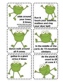 Front Yard Fitness Frogs with Video