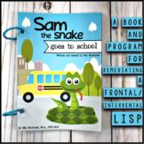 Frontal / Interdental Lisp Program & Book for speech therapy