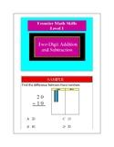 Frontier Classroom Aids Math Grade 1 Samples