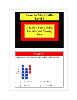 Frontier Classroom Aids Math Grade 2 Samples