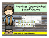 Pioneer / Frontier Open-Ended Board Game
