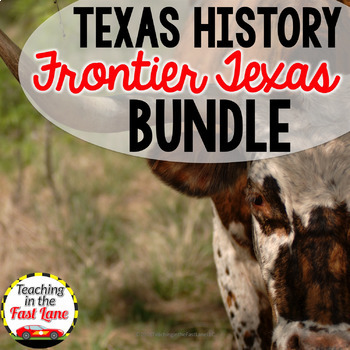 Frontier Texas and Cattle Drives Bundle