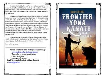Frontier Yona Kanati (Bear Hunter) Reading Guide Booklet