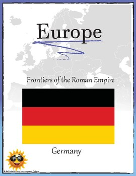(EUROPE GEOGRAPHY) Frontiers of the Roman Empire Germany Research Guide
