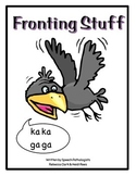Fronting Stuff - speech therapy book for k and g sounds