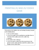 Fronting /k/ and /g/ cookie game