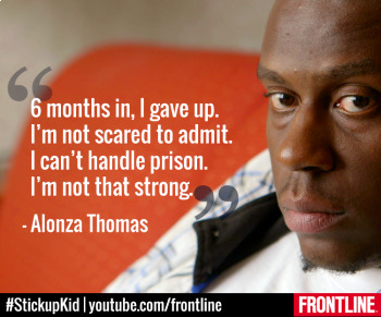 Frontline: Stickup Kid  Aired December 17, 2014 Video Notes Questions & Key