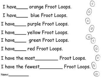 Froot Loops Graphing