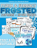 Frosted Math and Literacy | Centers and Small Group Materi
