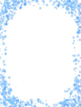Frosted Window Border