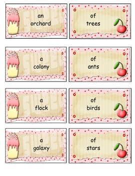 Frosting of Collective Nouns