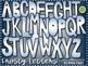 Frosty Alphabet Clipart