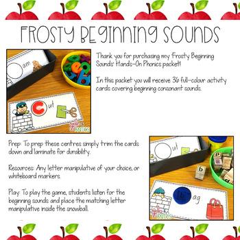Frosty Beginning Sounds