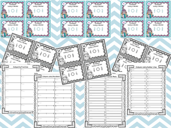 Comparing Fractions Task Cards  Color/Ink-Friendly Version
