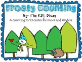 Frosty Counting!! A Winter Counting 1-10 FREEBIE