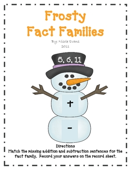 Frosty Fact Families