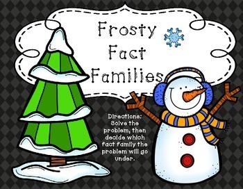 Winter Fact Families | Winter Centers | Winter Math