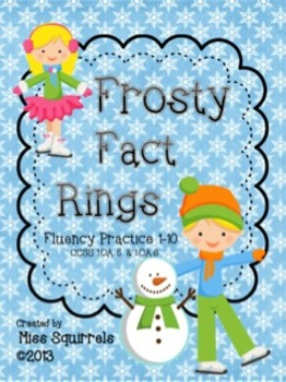Frosty Fact Rings- Fluency Practice 1 to  10