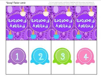 Frosty Factors!  A Multiplication Game