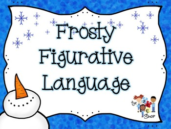 Frosty Figurative Language