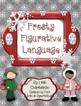 Frosty Figurative Language Freebie