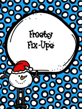 Frosty Fix-Ups: Fixing punctuation and capitals in sentenc