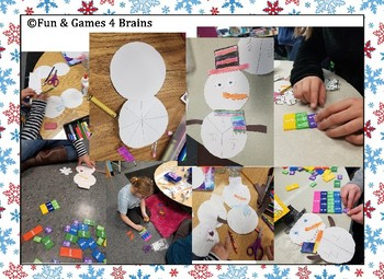 Frosty Fraction Equivalents -- Bulletin Board Craftivity -- equivalent fractions
