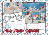 Frosty Fraction Equivalents -- Bulletin Board Craftivity -