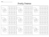 Frosty Frames: Ten Frames and Teen Frames