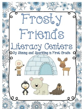 Frosty Friends Literacy Centers