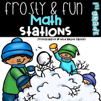 Frosty & Fun -  8 Hands on Math Centers for Winter
