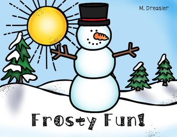 Frosty Fun (A Snowman Mini-Unit)